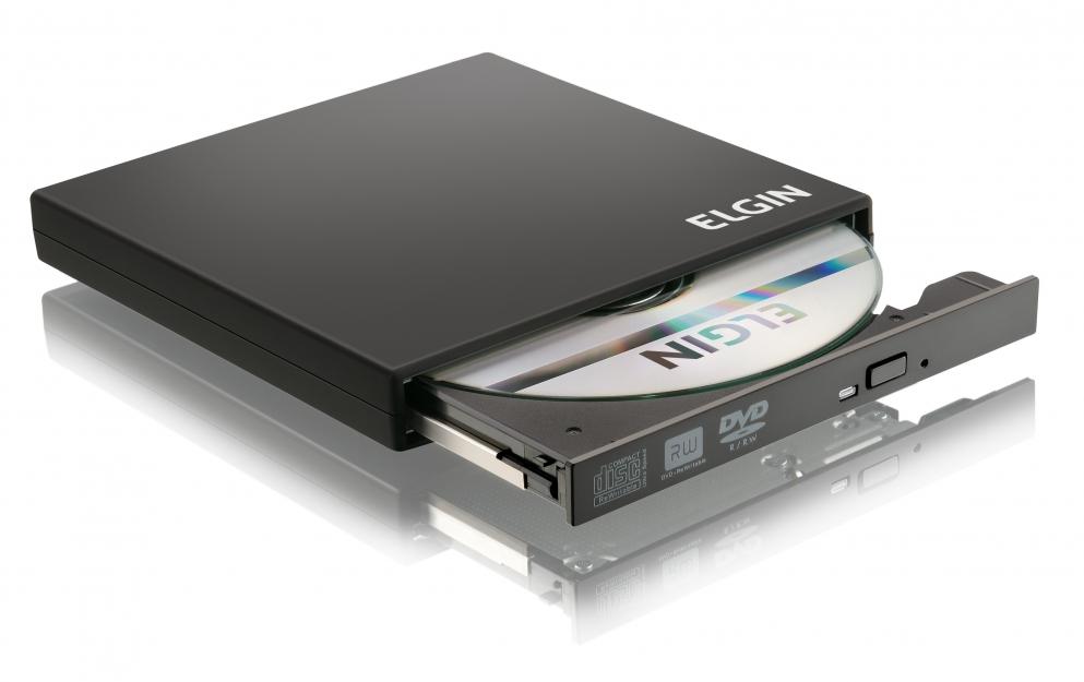 Gravador e Leitor Externo de CD/DVD