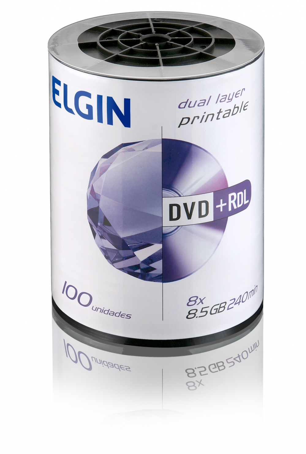 Dvd+r dl printable bulk 100 (82133)