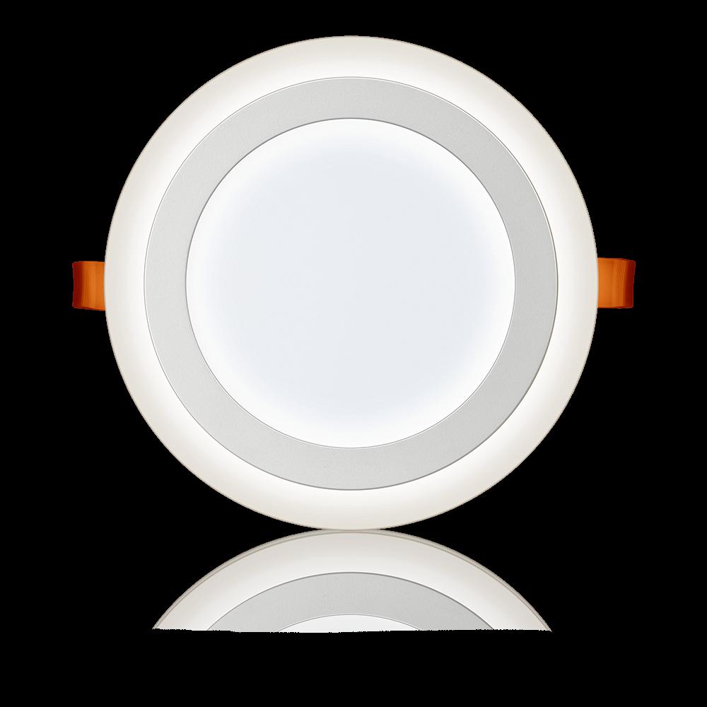 Luminária LED 3 Estágios Redonda de Embutir