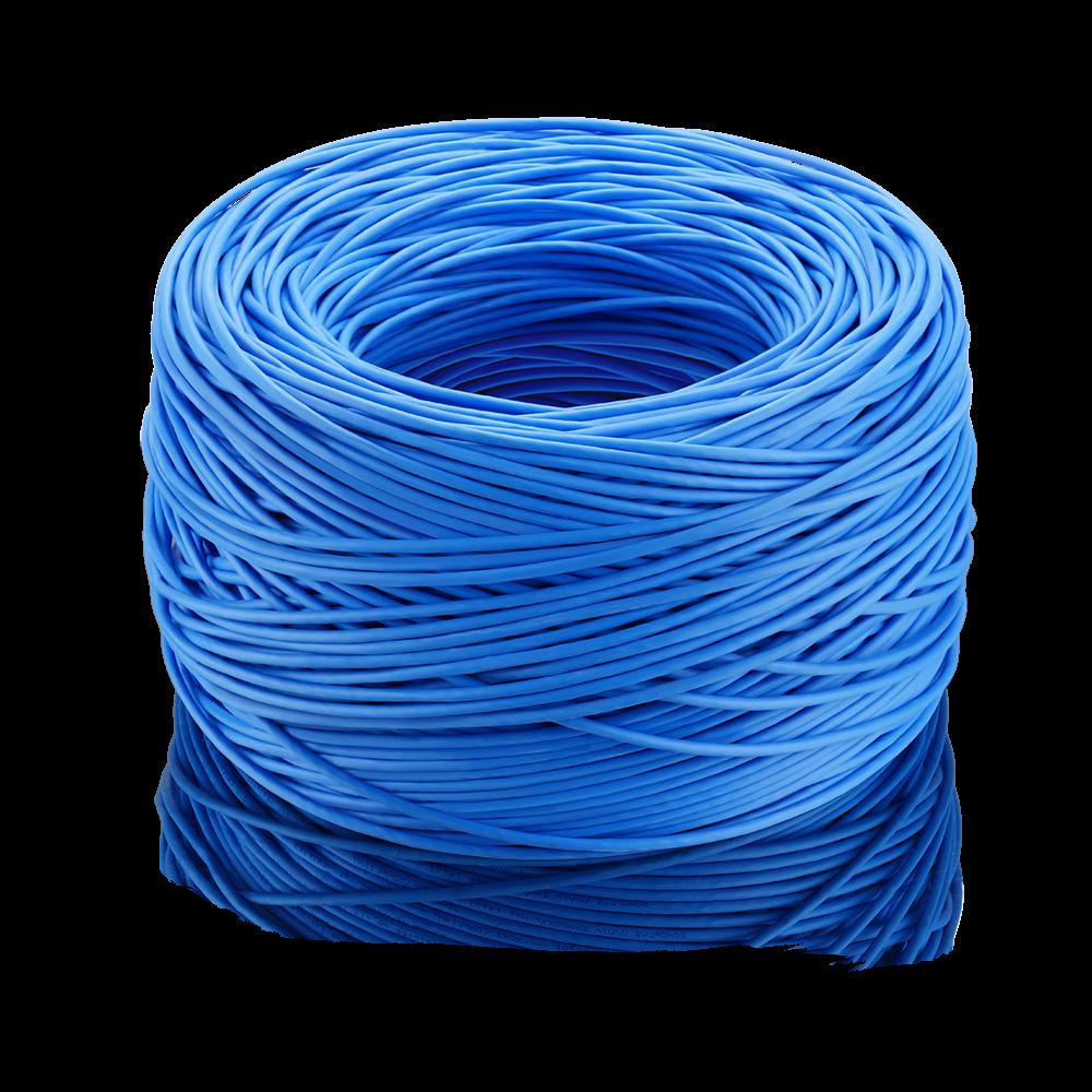 Cabo para cftv 305 metros azul