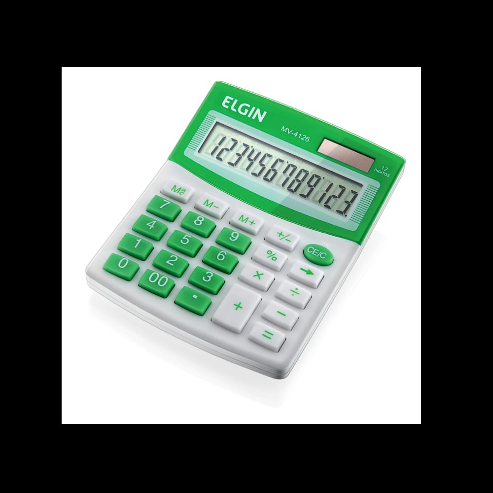 Calculadora de mesa mv 4126
