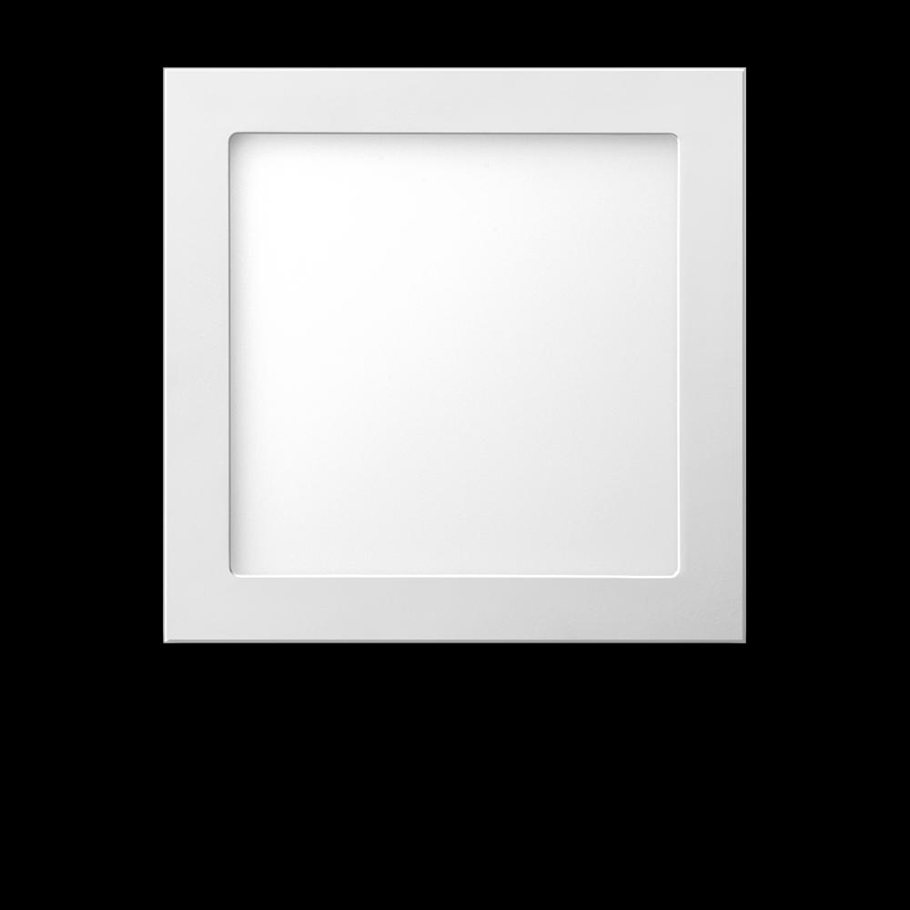 Luminária LED Quadrada de embutir