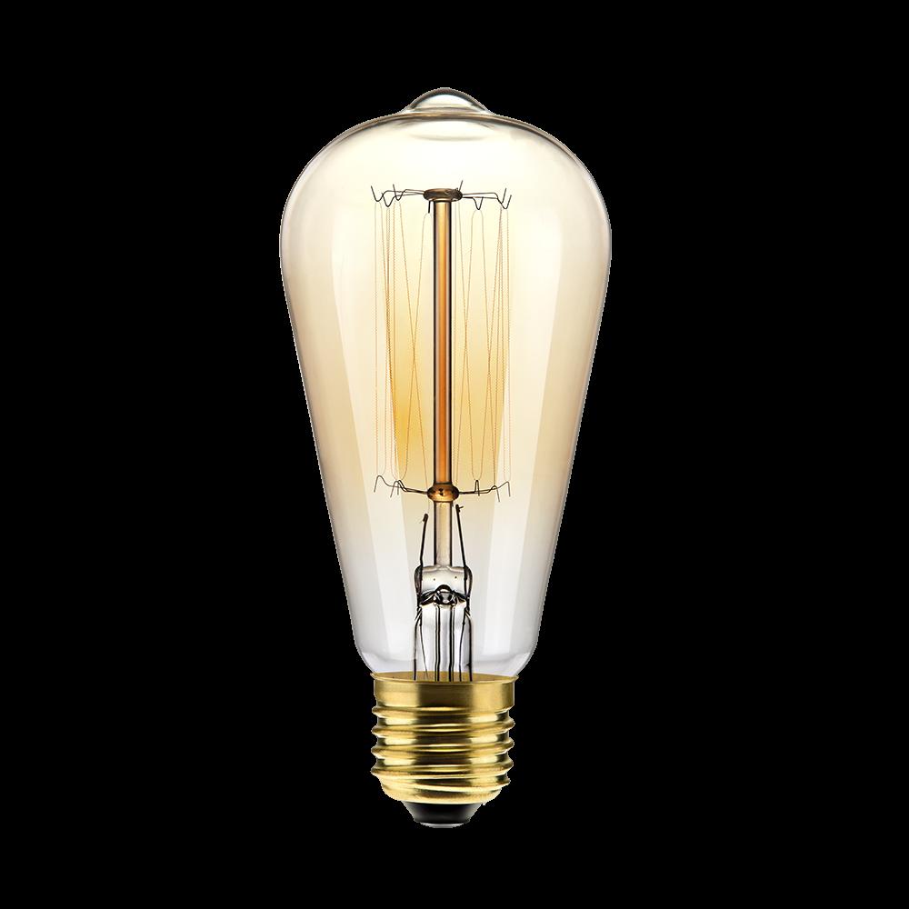 Iluminação - Filamento de Carbono