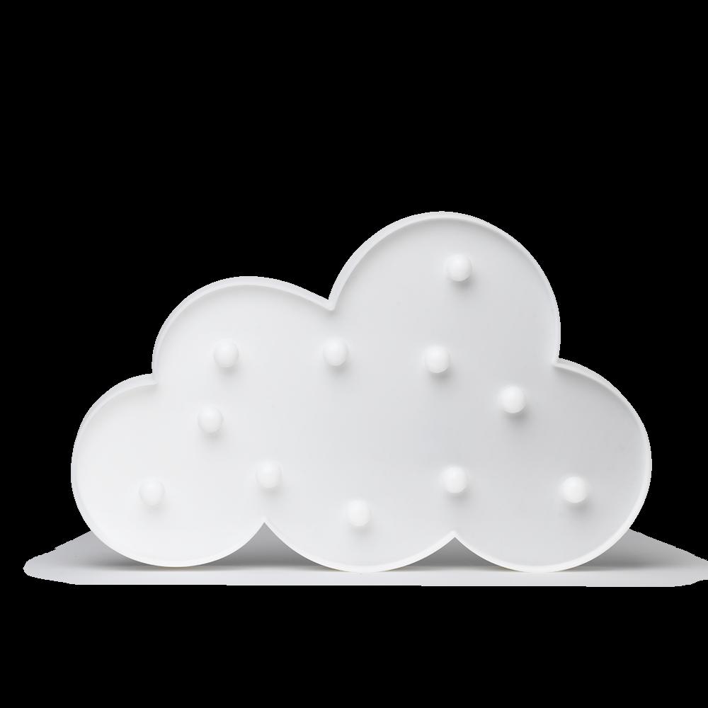 Luminária infantil - nuvem