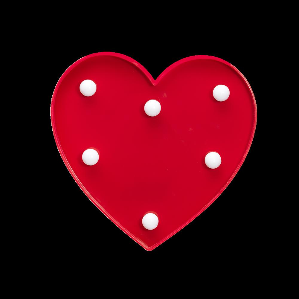 Luminária infantil - coração