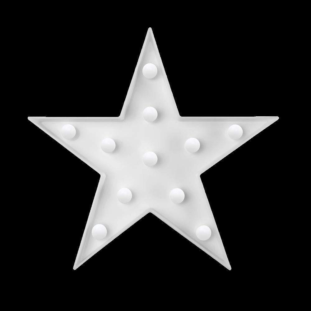 Luminária infantil - estrela