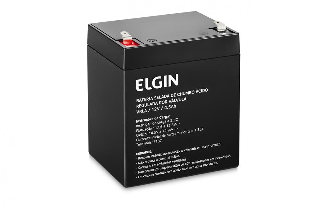 Bateria selada de chumbo 12v 4,5ah