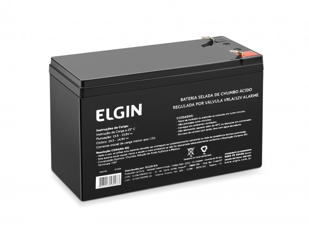 Bateria Selada de Chumbo 12V Alarme (82315)