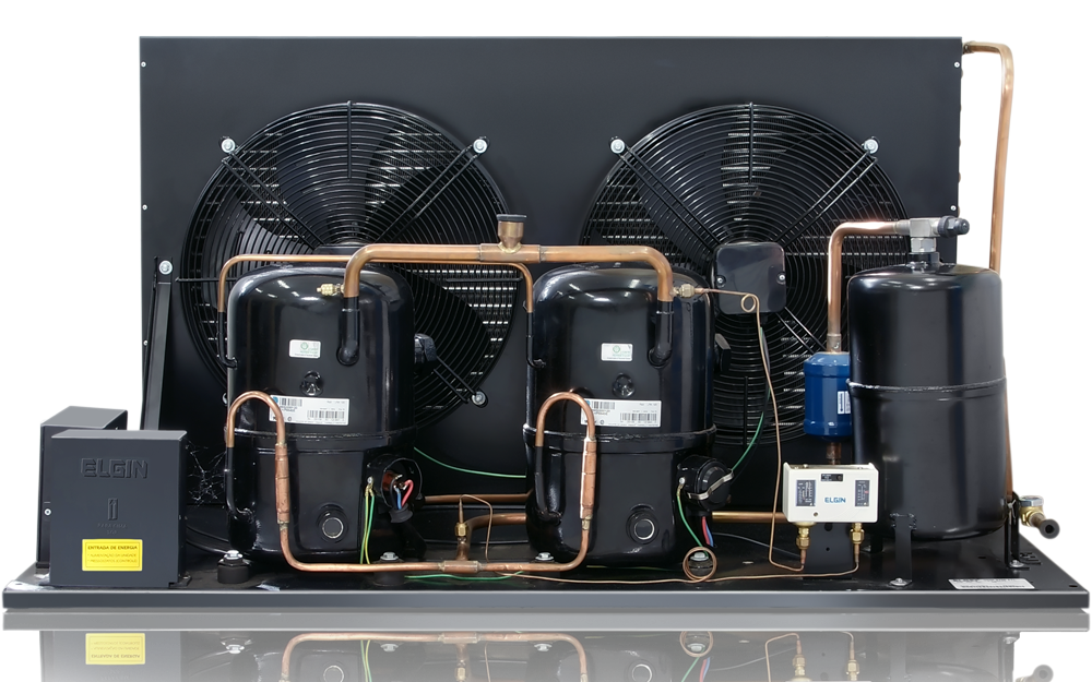 Unidade condensadora dual
